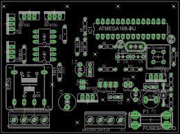 layout pcb inverter inverter 12 volt to 230 volt exle pcb