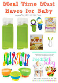 table food for 9 month old must haves for baby