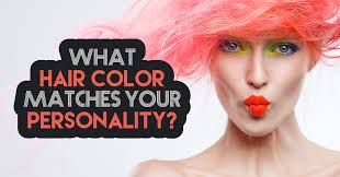what hair color matches your personality quiz quizony com