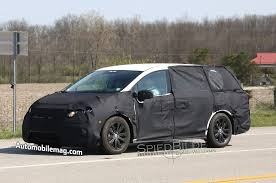 2018 honda odyssey spied with updated lights lower grille