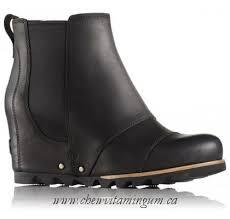 womens sorel boots sale canada for sale sorel s lea wedge boot in grey canada shop