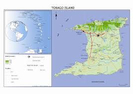 Tobago Map Tourism In Trinidad And Tobago The Evolving Attitudes And