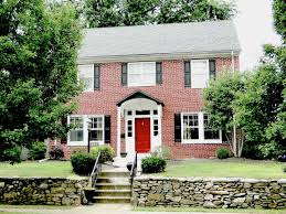 Red Door Home Decor Red Doors Brick Colonial House Google Search Exterior Decor