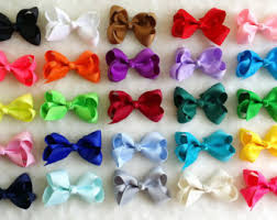 toddler hair bows 3 inch hair bows etsy