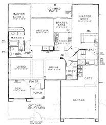 house plans with in suites two master bedrooms delightful ideas 2 bedroom house plans with