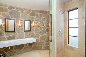 Eclectic Master Bathroom With Double Sink  Wall Sconce In - Bathrooms with double sinks