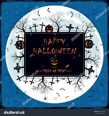halloween nature background spider black halloween banner on blue grunge stock vector 710381839
