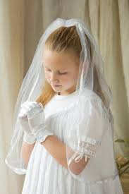 holy communion veils communion veil ribbon edge headdress holy communion tulle