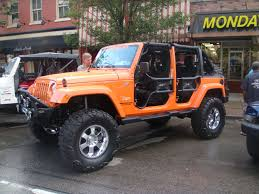 jeep wrangler orange photo gallery bantam jeep heritage festival onallcylinders