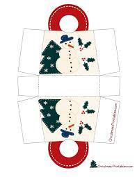 christmas gift bag template template
