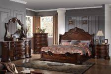 Antique Finish Bedroom Furniture Walnut Traditional Bedroom Furniture Sets Ebay