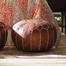 Leather Ottoman Round by Round Ottomans U0026 Poufs You U0027ll Love Wayfair