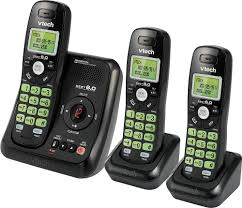 vtech cs6120 31 dect 6 0 cordless phone with digital answering