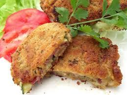 recette cuisine crue recette courgettes panées jambon cru parmesan cuisinez courgettes