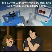 Laser Meme - the latest and best technology for laser vision correction is here