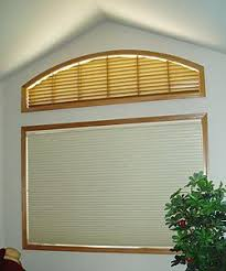Wood Blinds For Arched Windows Specialty Shaped Windows The Blind Spot Inc