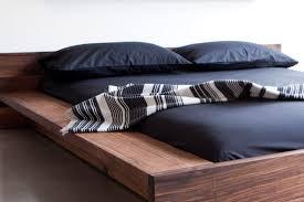 bedroom wood platform bed full queen platform bed frame no