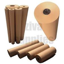 kraft brown wrapping paper heavy duty 88gsm strong roll 500mm to