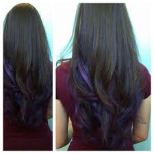 best 25 dark purple highlights ideas on pinterest dark hair