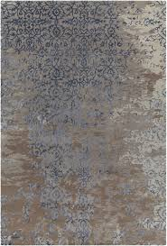 Brown Area Rug Rupec Collection Tufted Area Rug In Grey Blue Brown