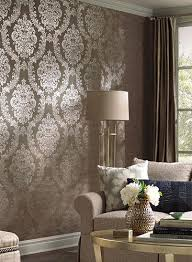 Damask Designer Wallpapers View Specifications  Details Of - Designer wall papers