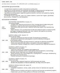 Senior Staff Accountant Resume Sample by Sample Staff Accountant Resume 9 Examples In Word Pdf