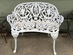 Iron Bistro Table Set Garden Bench Aluminium Garden Bench Antique Garden Furniture