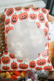 halloween goody bags halloween caramel corn bags we r memory keepers blog