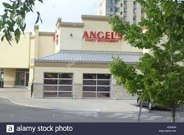 Family Restaurant Covent Garden Angels Family Restaurant London Ontario Canada Stock Photo