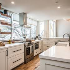 kitchen cabinets houzz 75 beautiful contemporary kitchen with shaker cabinets