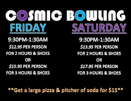 black light bowling near me cosmic bowling ultra bowling bowling center name city st