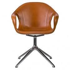 cuir de bureau chaise de bureau eléphant cuir pied araignée kristalia