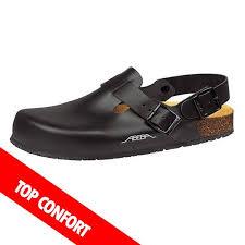 chaussure de cuisine noir sabot de cuisine noir confort homme et femme abeba