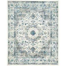 Blue Grey Area Rugs Blue And Grey Area Rugs Thelittlelittle