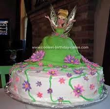 tinkerbell birthday cake tinkerbell fairy doll cake heaven birthday grin