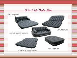 buy 5 in 1 air sofa bed