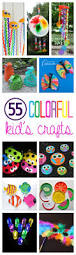 colorful kid u0027s crafts more than 55 colorful craft ideas