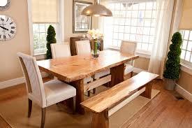 Natural Wood Dining Room Sets Natural Edge Furniture Dining Tables Saybrook Country Barn