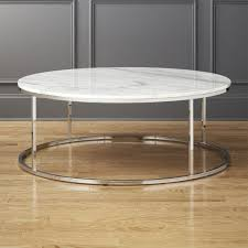 marble top cocktail table smart round marble top coffee table reviews cb2