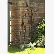 garden obelisk 6ft by the orchard notonthehighstreet com