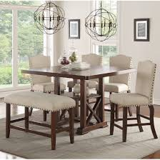 kitchen dining sets joss main delbert piece counter height dining set