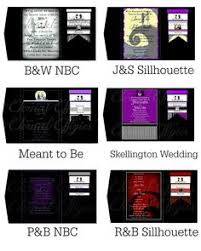 Nightmare Before Christmas Wedding Invitations Invitations Lol Would You Do This For The Wedding Of The Year