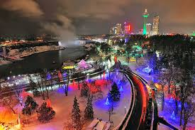 christmas lights in niagara falls ontario epic holiday lights festival happening near toronto