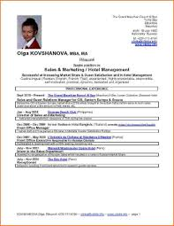 Resume Models For Mba Hotel Job Resume Format Free Resume Example And Writing Download
