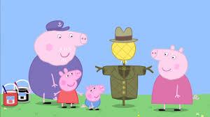 grandpa pig u0027s scarecrow peppa pig video s2 ep113