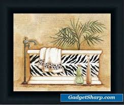 Animal Print Bathroom Ideas by 109 Best Safari Bathroom Images On Pinterest Safari Bathroom