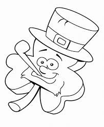 leprechaun coloring pages to print
