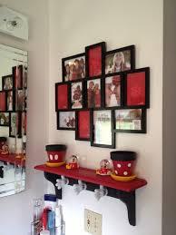 themed shelves my disney our mickey and minnie themed bathroom with custom