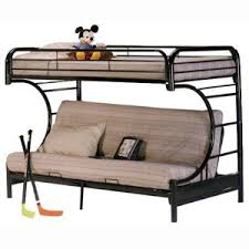 CFuton Bunk Bed Metal Frame Only  Mattress Depot - Futon bunk bed frame