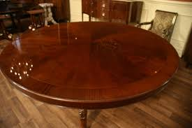 Mahogany Dining Room Furniture Classic Dining Room Design With 12 Person Round Dining Table